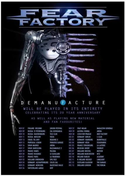 fear factory tour