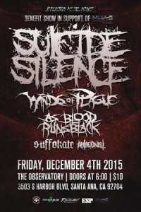 Suicide Silence Benefit Show